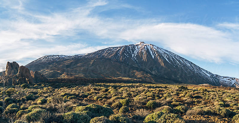 Volcano Teide National Park by ACALU Studio for Stocksy United