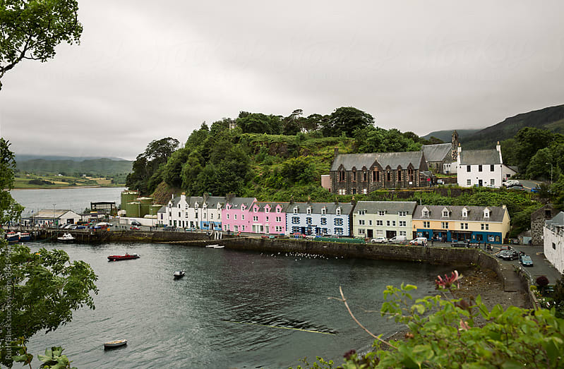 Portree on the Isle of Skye, Scotland, UK by Ruth Black for Stocksy United