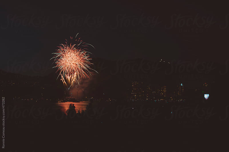 Fireworks Display by Ronnie Comeau for Stocksy United