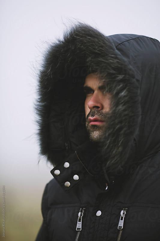 Man portrait by Jovana Rikalo for Stocksy United