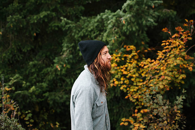 Cool guy with beanie by luke + mallory leasure for Stocksy United