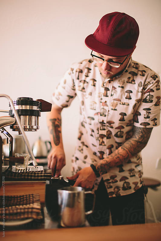 Coffee Man by luke + mallory leasure for Stocksy United