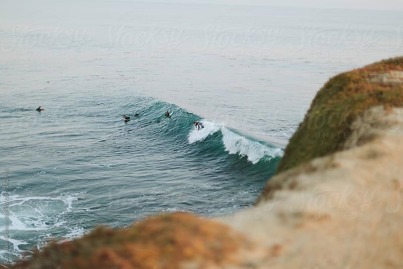 Surfers // Santa Cruz, CA by Christian Gideon for Stocksy United