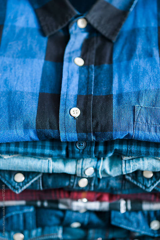 jean shirts by Alexey Kuzma for Stocksy United