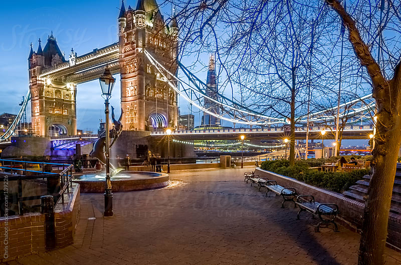 Tower Bridge in London by Chris Chabot for Stocksy United