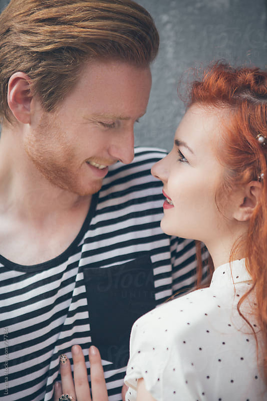 Ginger Caucasian Couple in Love by Lumina for Stocksy United