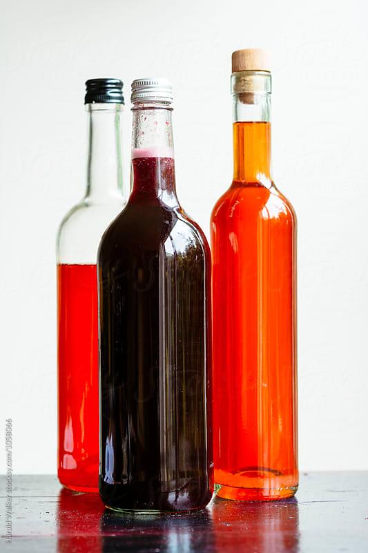 Fruit vinegars by Harald Walker for Stocksy United