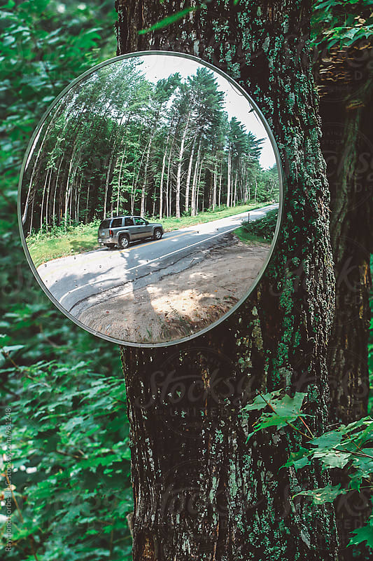 Driveway Mirror by Raymond Forbes LLC for Stocksy United