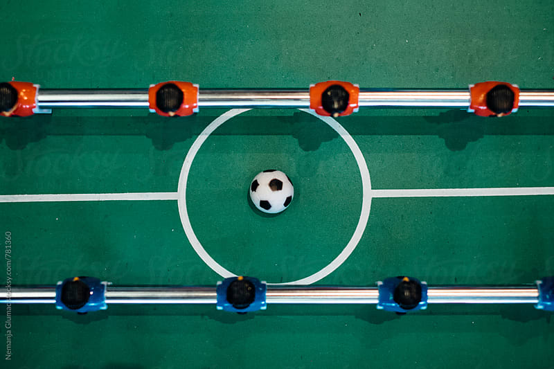 Table Football From Above by Nemanja Glumac for Stocksy United