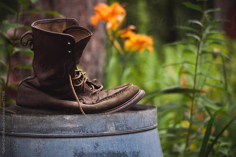 Gardening Boots by Gabriel (Gabi) Bucataru for Stocksy United