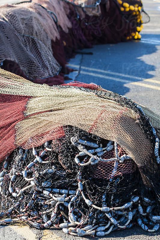 Fishing nets by Marilar Irastorza for Stocksy United