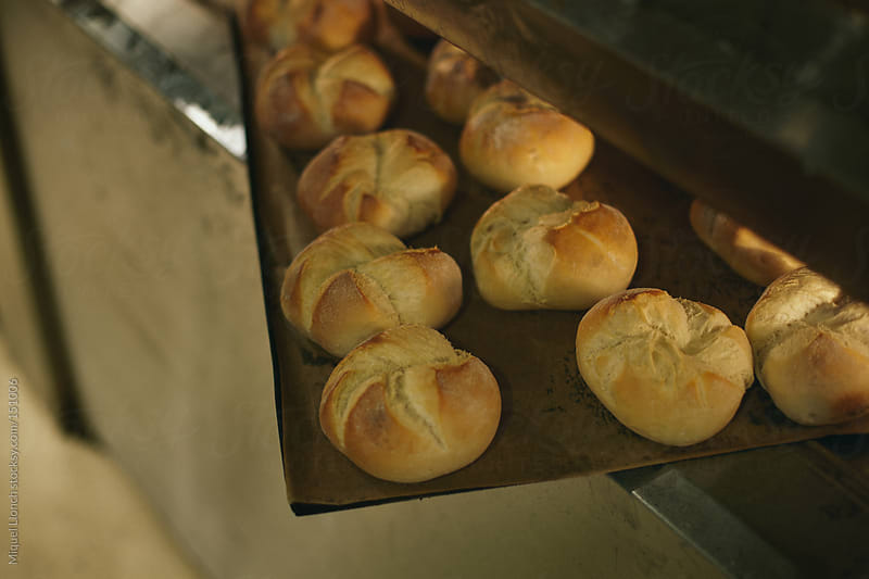 Fresh baked rolls by Miquel Llonch for Stocksy United