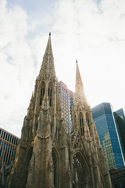 Beautiful Saint Patricks cathedral by Alejandro Moreno de Carlos for Stocksy United