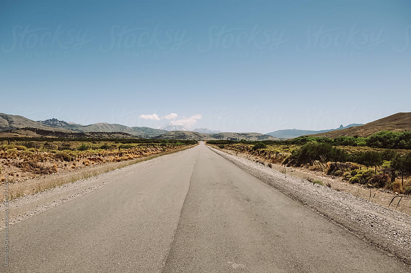 Panoramic view taken from the road by Leandro Crespi for Stocksy United