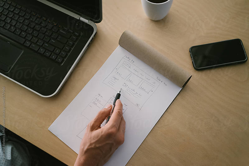 Website Design by Bruce Meissner for Stocksy United
