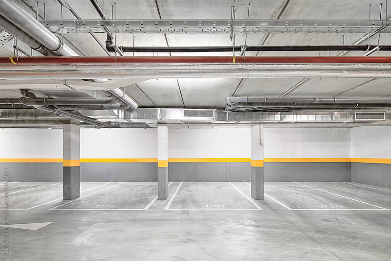 Parking space by Luis Cerdeira for Stocksy United