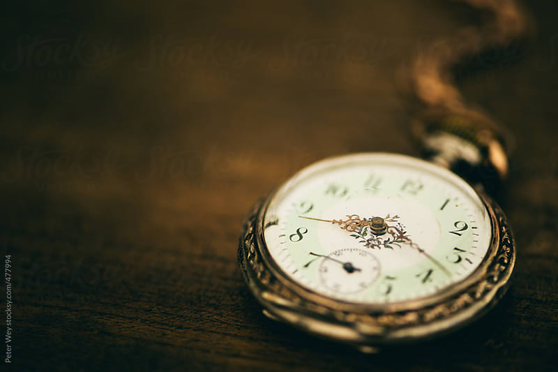 old pocket watch by Peter Wey for Stocksy United