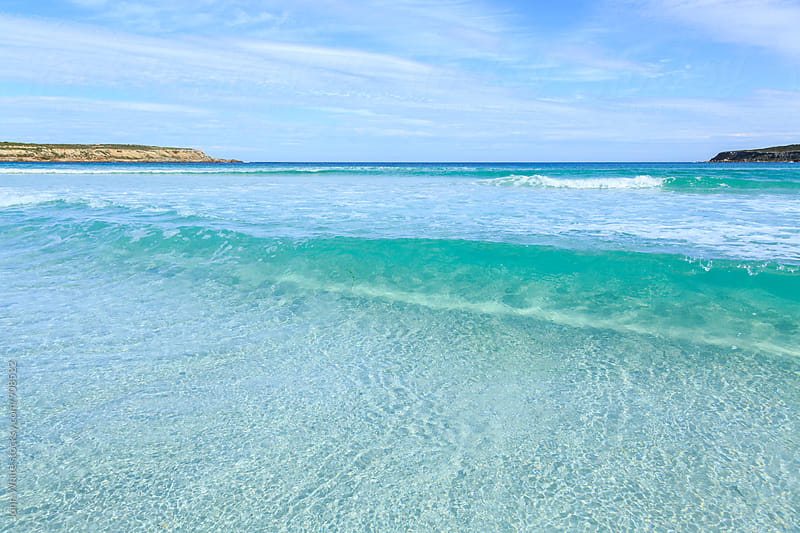 Clear water at Fishery Bay. South Australia. by John White for Stocksy United