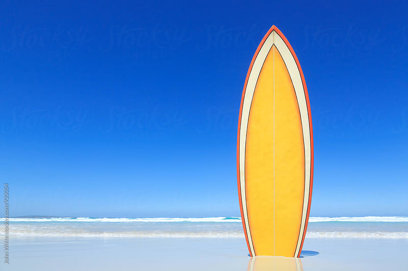Surfboard by John White for Stocksy United