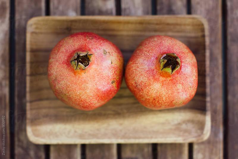 Juicy pomegranates by Zocky for Stocksy United