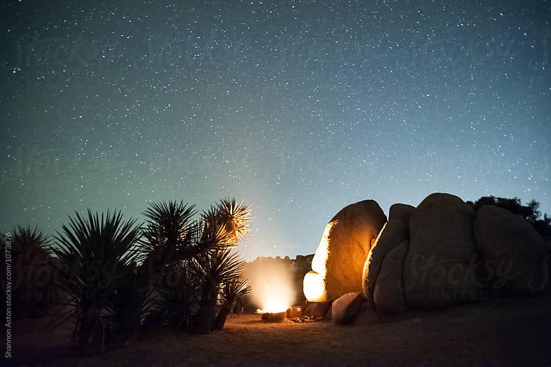 Jumbo Rocks, Joshua Tree, CA by Shannon Aston for Stocksy United