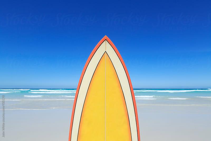 Surfboard by John White for Stocksy United