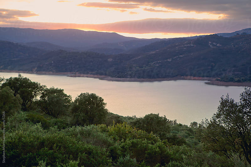 Scenic Lake in Andalusia, Spain by Stephen Morris for Stocksy United