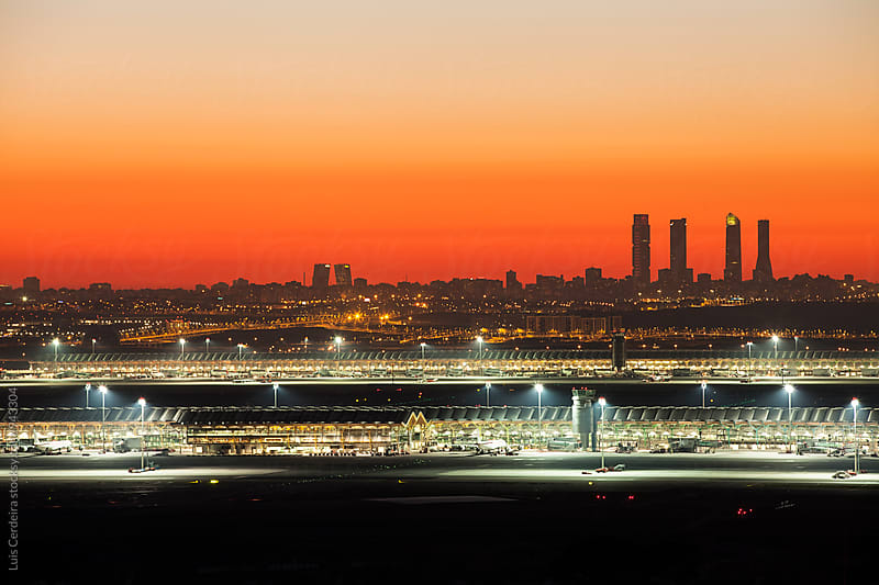 Airport view by Luis Cerdeira for Stocksy United