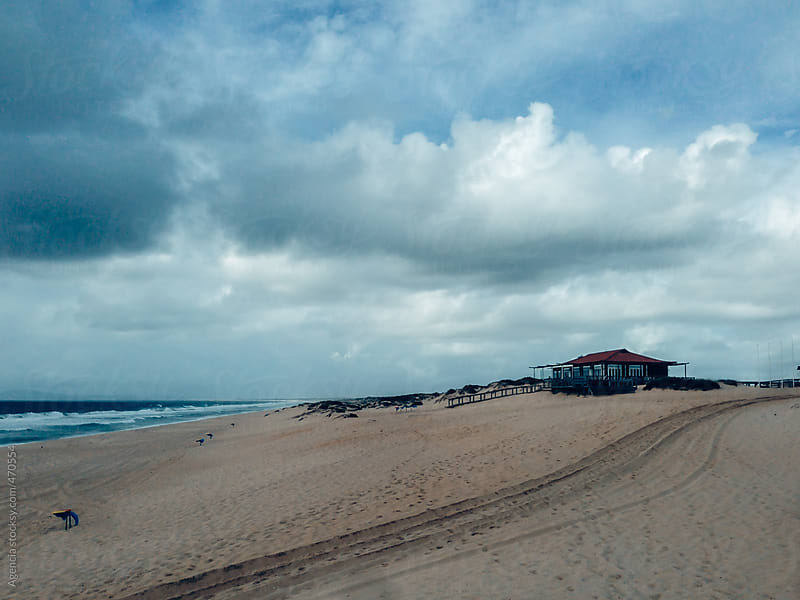 Stormy Beach by Agencia for Stocksy United