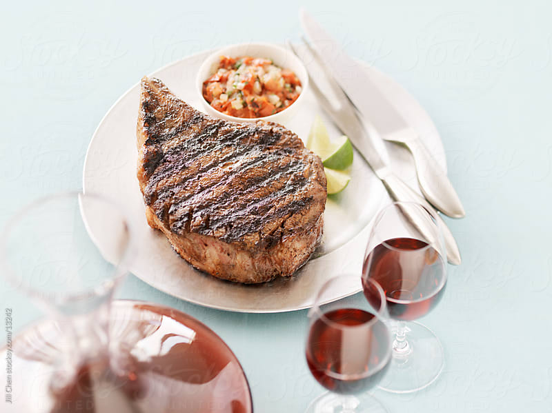 Grilled Beef Steak by Jill Chen for Stocksy United