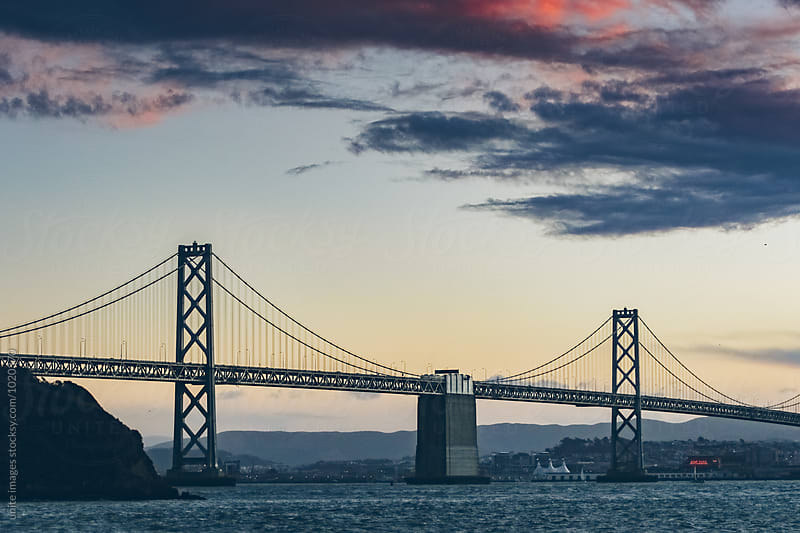 bay bridge by unite images for Stocksy United