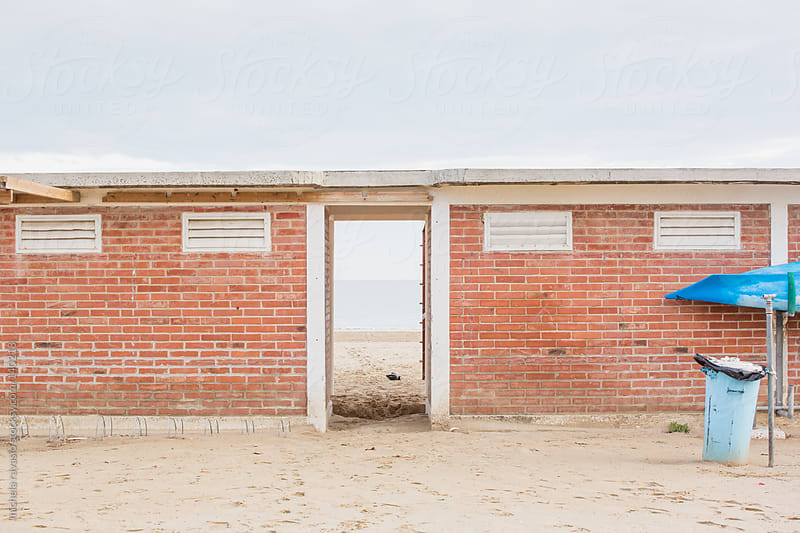 Beach cabins  by michela ravasio for Stocksy United