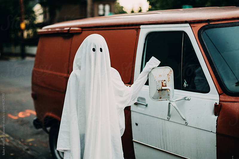 Ghosts like cars  by luke + mallory leasure for Stocksy United