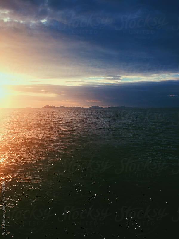 lensflare sunset by Paul Schlemmer for Stocksy United