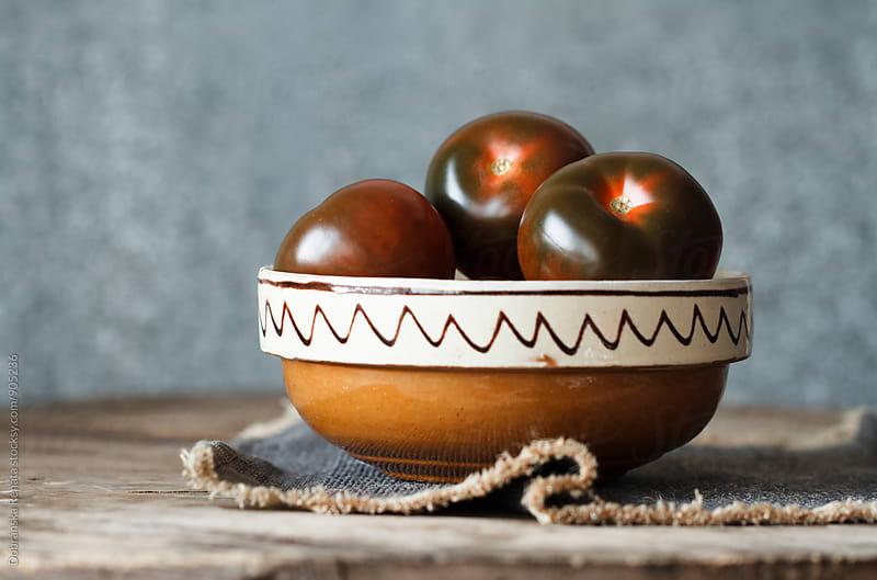 Kumato Tomatoes by Dobránska Renáta for Stocksy United