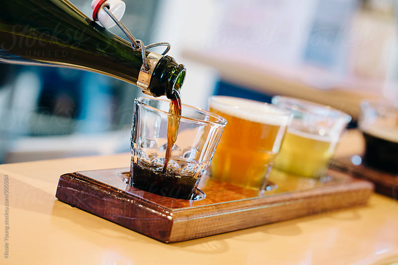 Beer Tasting by Nicole S. Young for Stocksy United