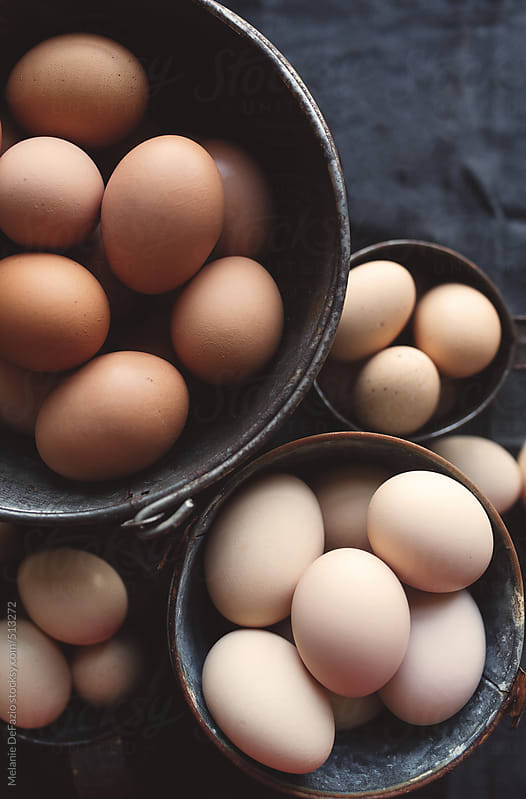 Eggs by Melanie DeFazio for Stocksy United