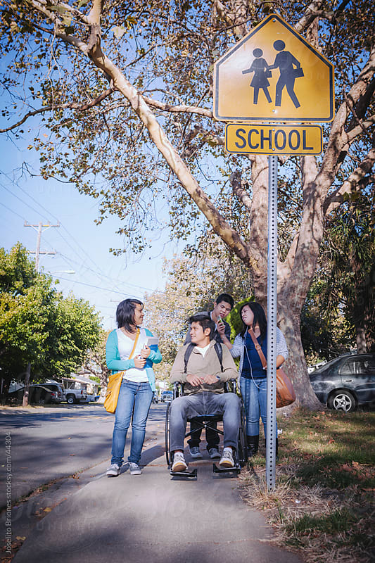 New Americans - Minority High School Students by Joselito Briones for Stocksy United