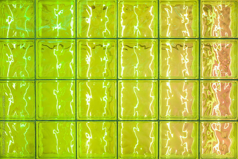 Light Reflection in Glass Tiles by VISUALSPECTRUM for Stocksy United