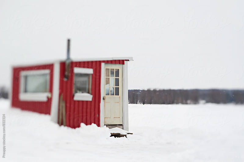 Hut in winter by Preappy for Stocksy United
