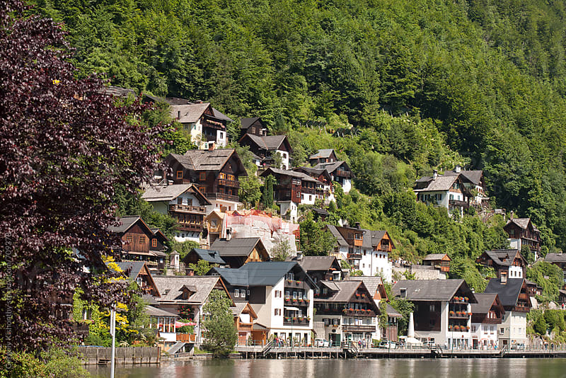 Beautiful Hallstatt. by Gergely Kishonthy for Stocksy United