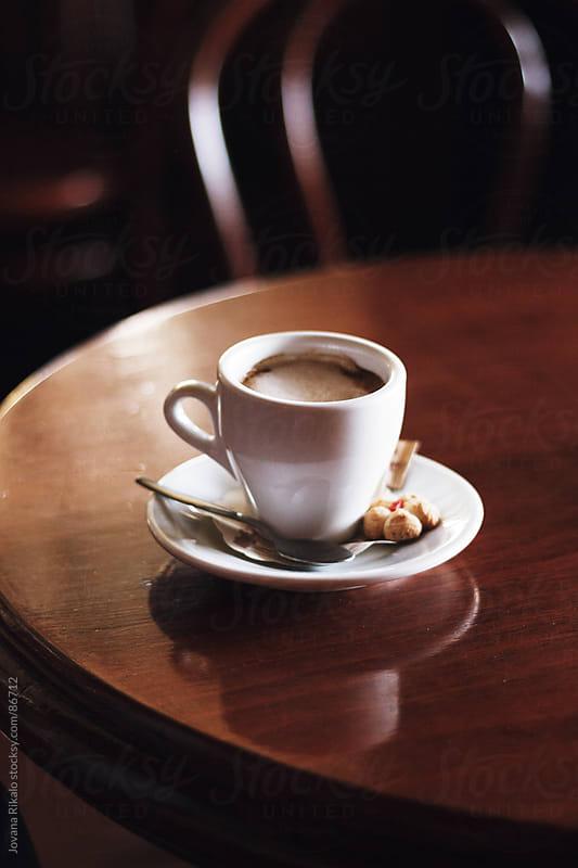 Espresso coffee by Jovana Rikalo for Stocksy United