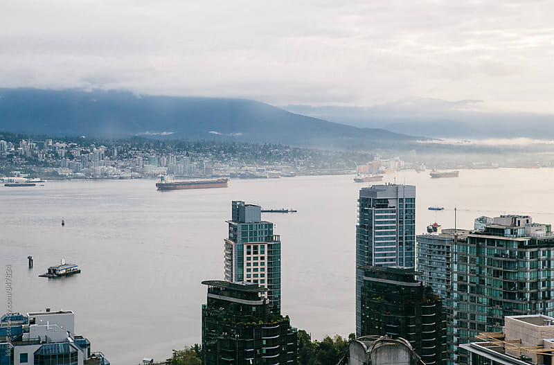 Vancouver bay by kkgas for Stocksy United