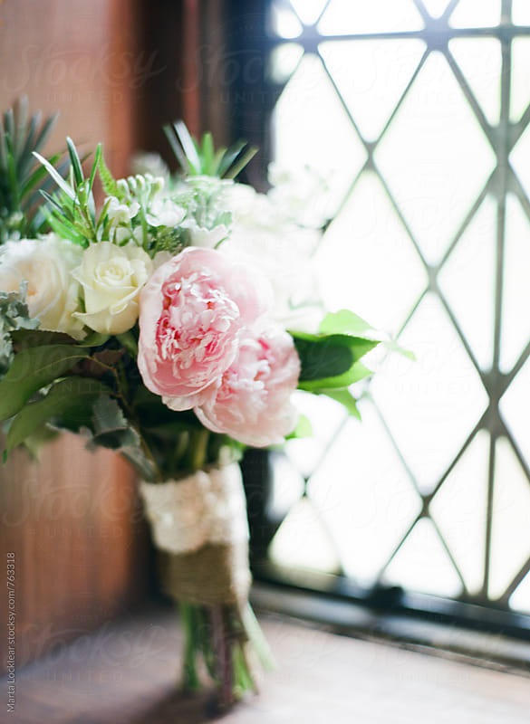 Bridal bouquet  by Marta Locklear for Stocksy United