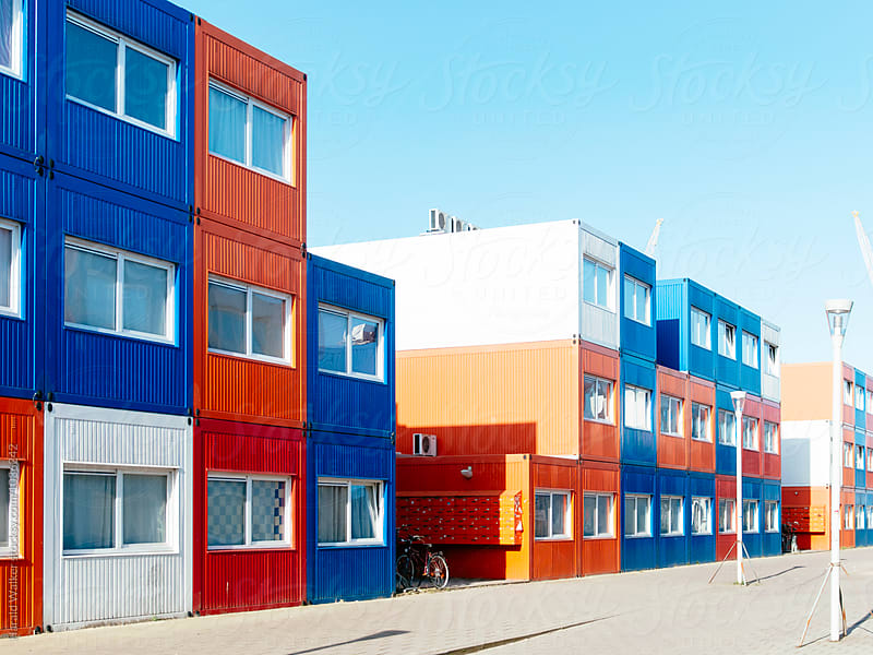 Container housing by Harald Walker for Stocksy United