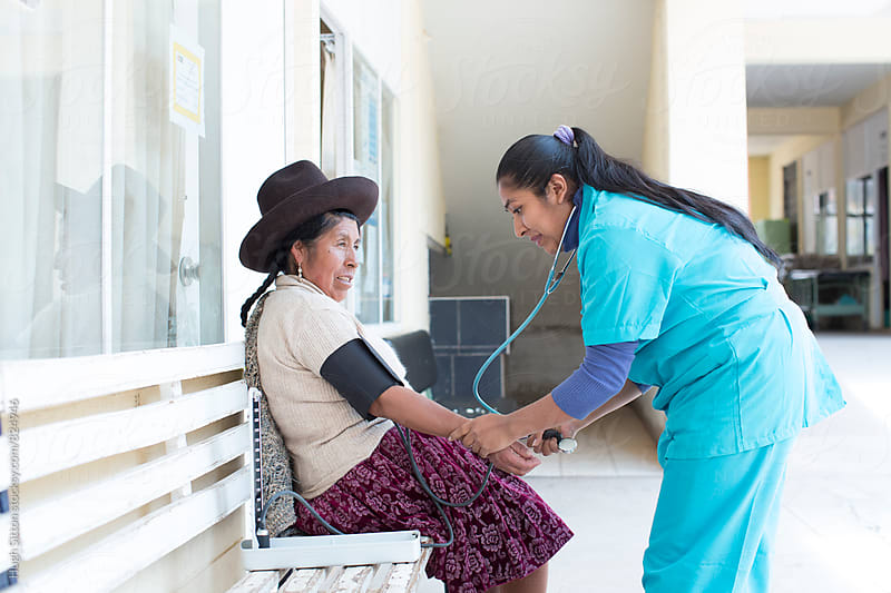 Medical Clinic. Peru by Hugh Sitton for Stocksy United