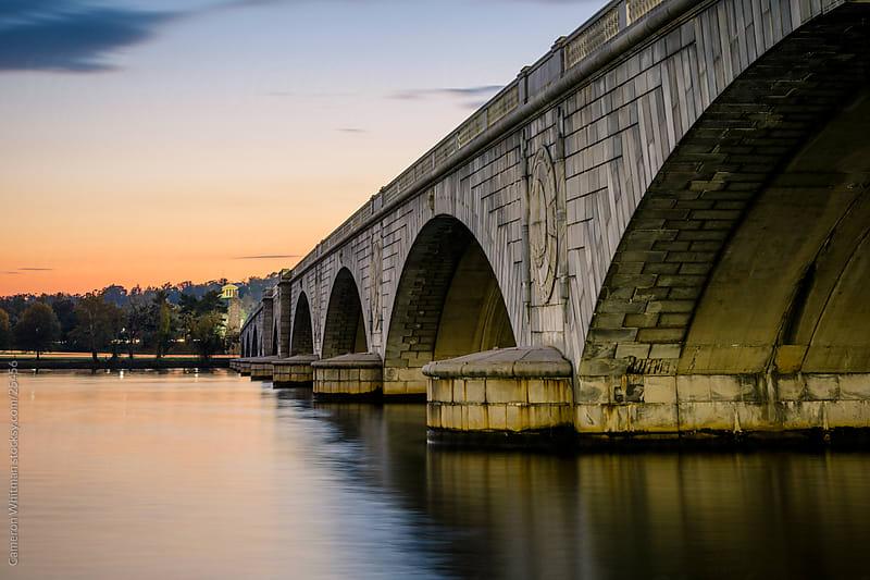 Arlington Memorial Bridge by Cameron Whitman for Stocksy United