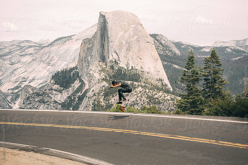 Yosemite Skate by Jake Elko for Stocksy United