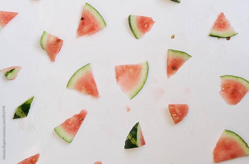 Watermelon pattern by Alessio Bogani for Stocksy United