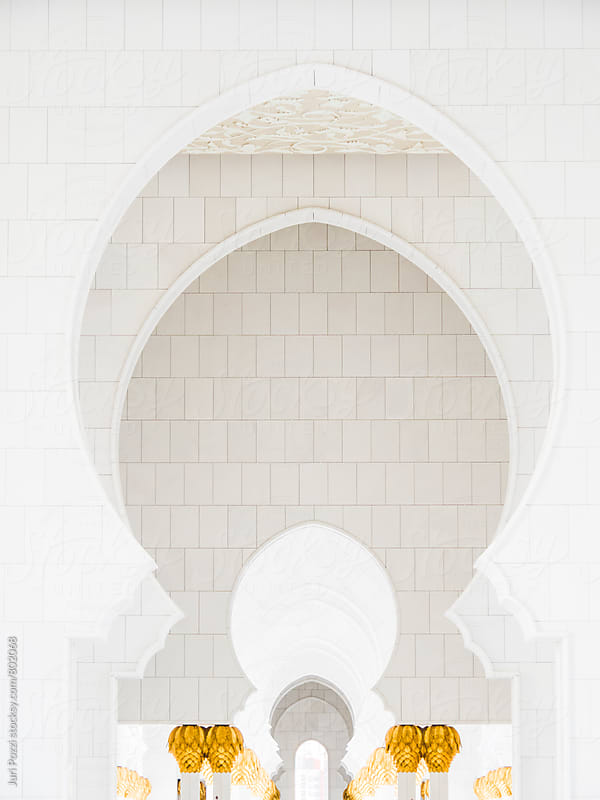detail of a Mosque by Juri Pozzi for Stocksy United